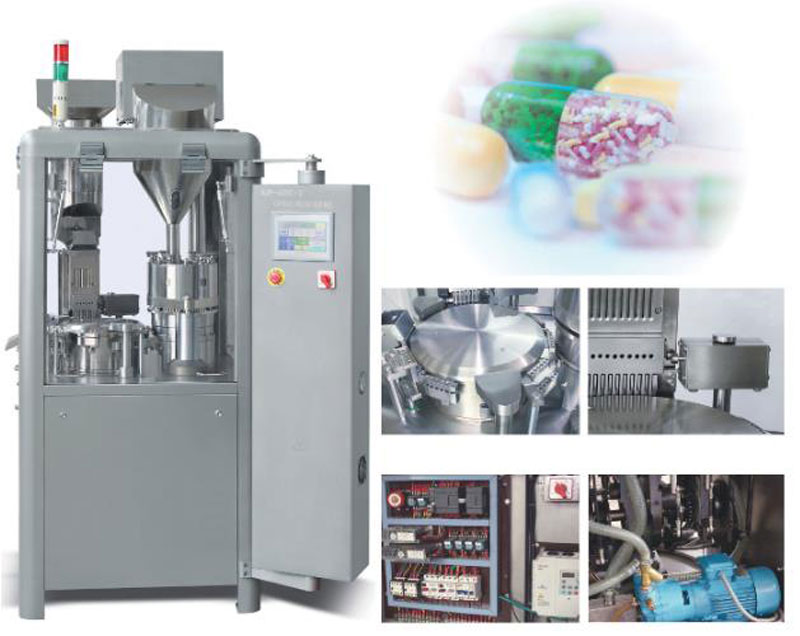 NJP 800C Automatic Capsule Filling Machine 2