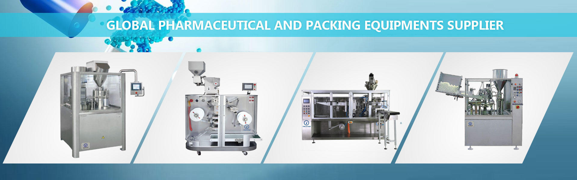 Global Pharmaceutical And Packing Equipments Supplier
